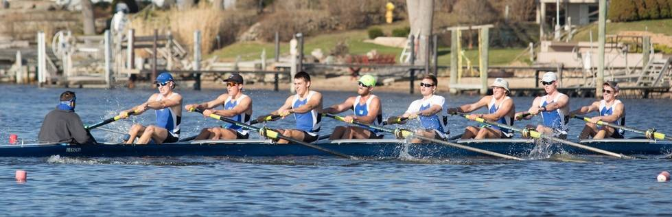 GVSU Rowing Club competing at Lubber's Cup