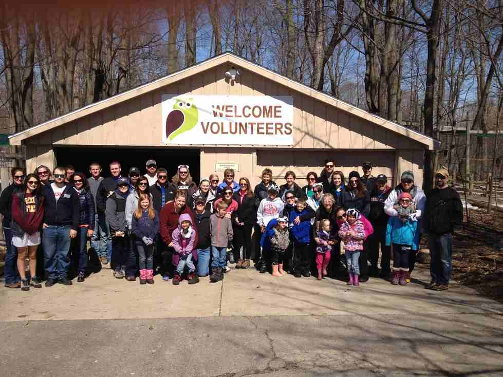 Blandford Nature Center volunteers