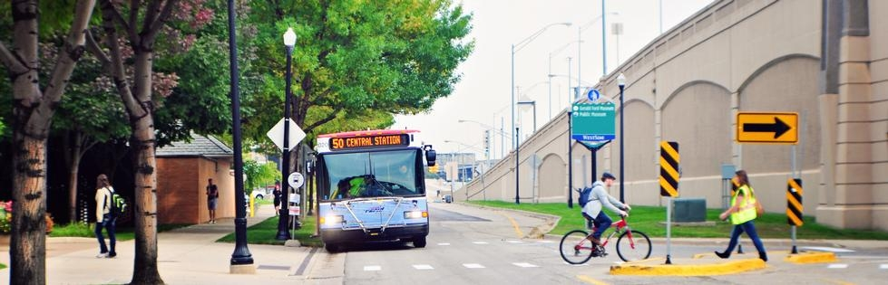 Bus Route 50 Gvsu Campus Connector Weekday Gvsu