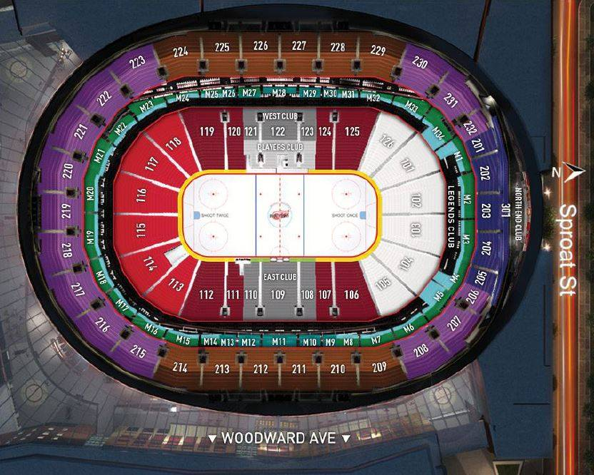 Tickets Detroit Red Wings Gvsu Night Grand Valley