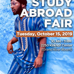 Study Abroad Fair on October 15, 2019