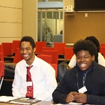 Steelcase two black male students