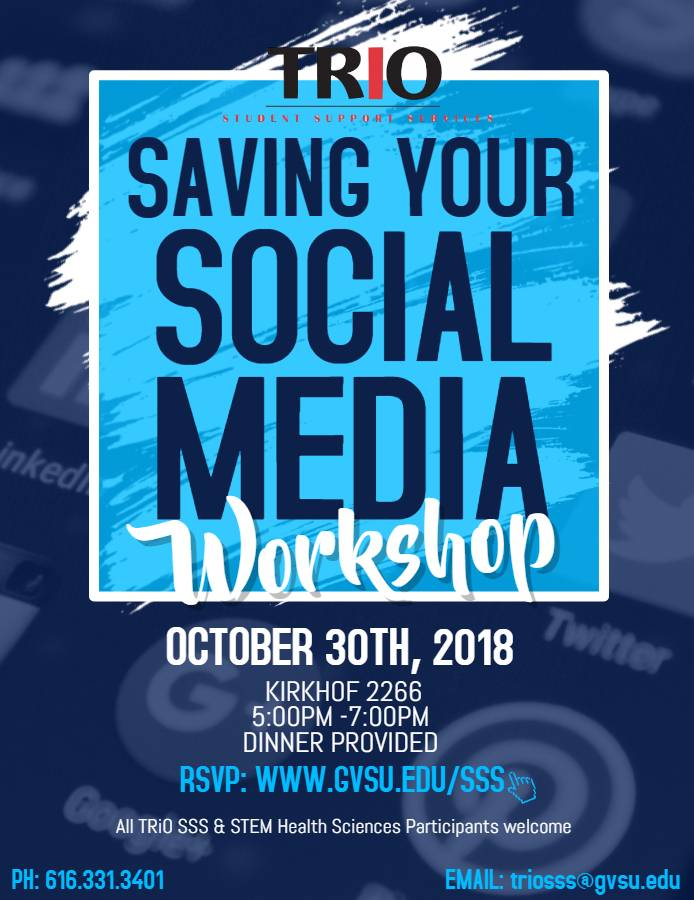 saving your social media
