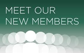 Meet Our New Members