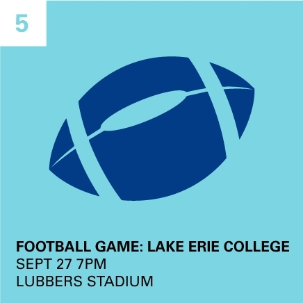 Football Game - Lake Eerie College