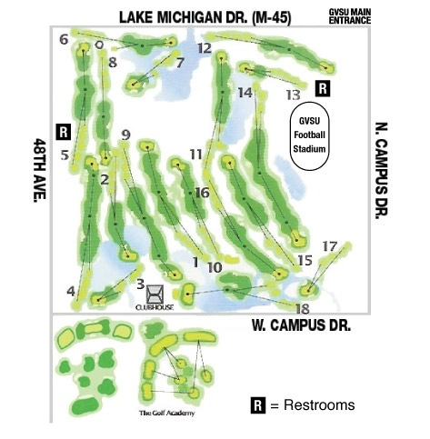 Golf Course Layout