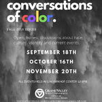 Conversations of Color on September 18, 2019