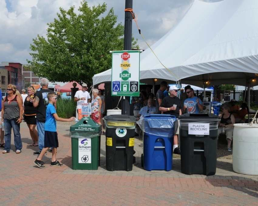 Recycling at Events