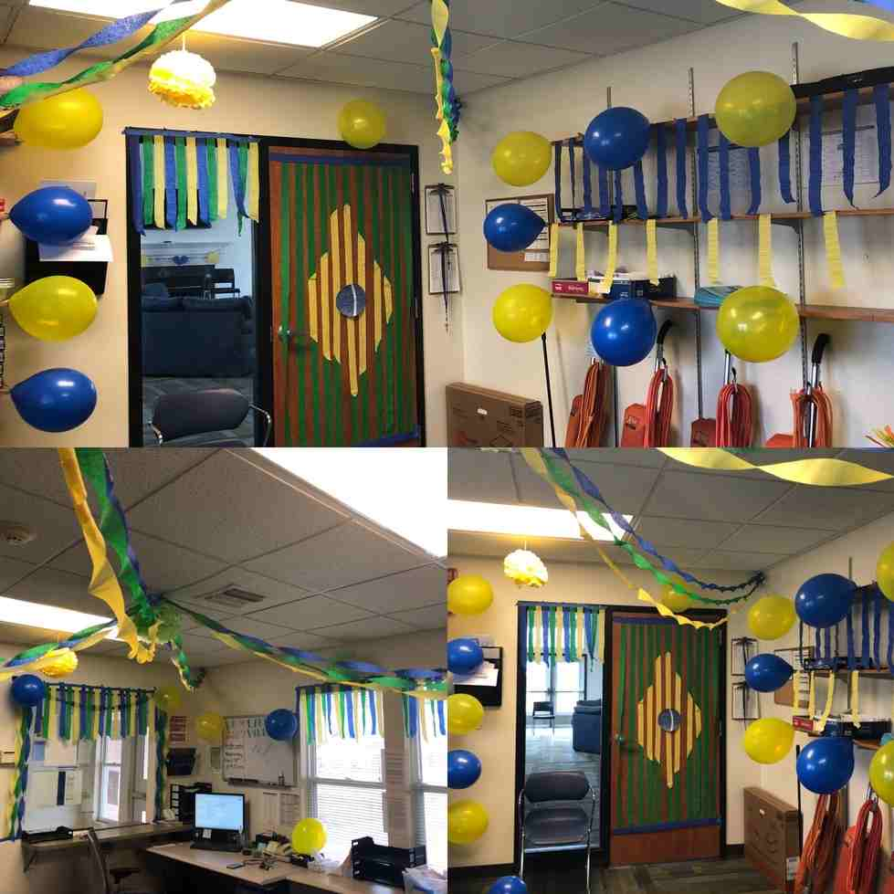 Student Employee Appreciation Week 2018 Office Decorating