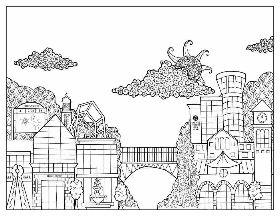 media coloring pages - photo#9