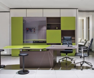 Furniture manufacturers bring offices to life at NeoCon