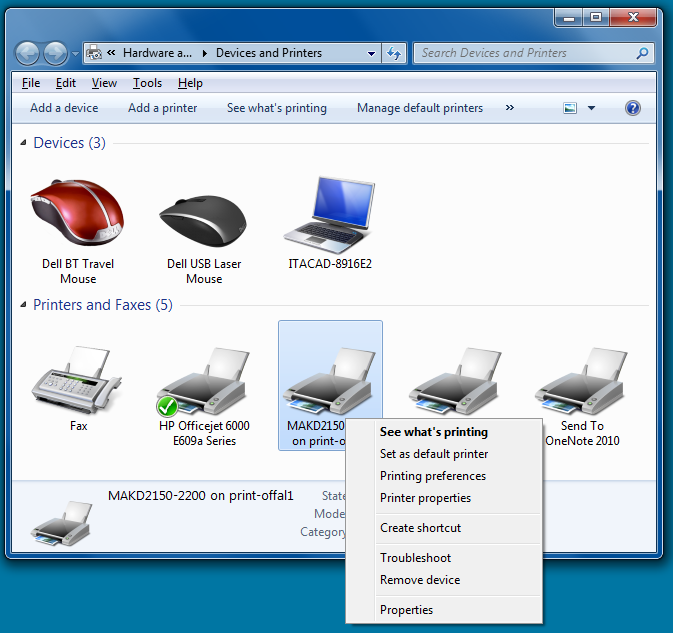Removing a Printer in Windows 7 - IT HelpDesk