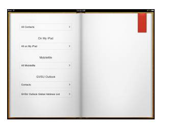 The result of keeping all contacts is illustrated on the grouping of the address books (right).