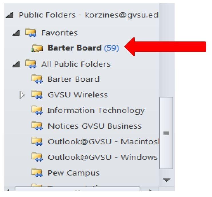 Add Public Folders to Favorites in Outlook 2010 for Windows