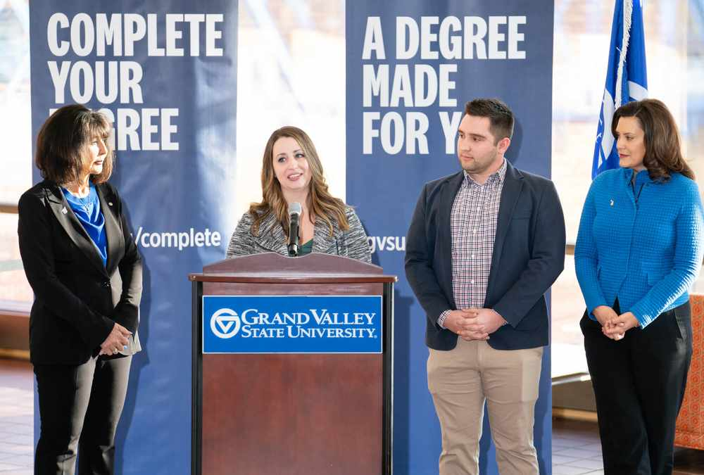 GVSU's accelerated degree program will improve state's productivity, fit governor's initiative