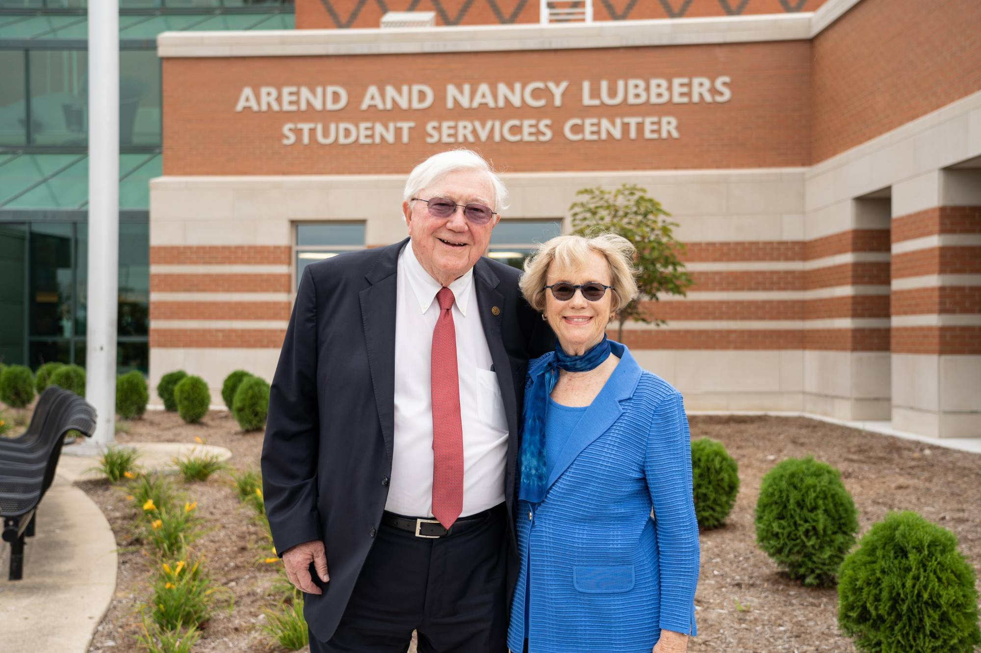 President Emeritus Arend Lubbers and Nancy Lubbers.