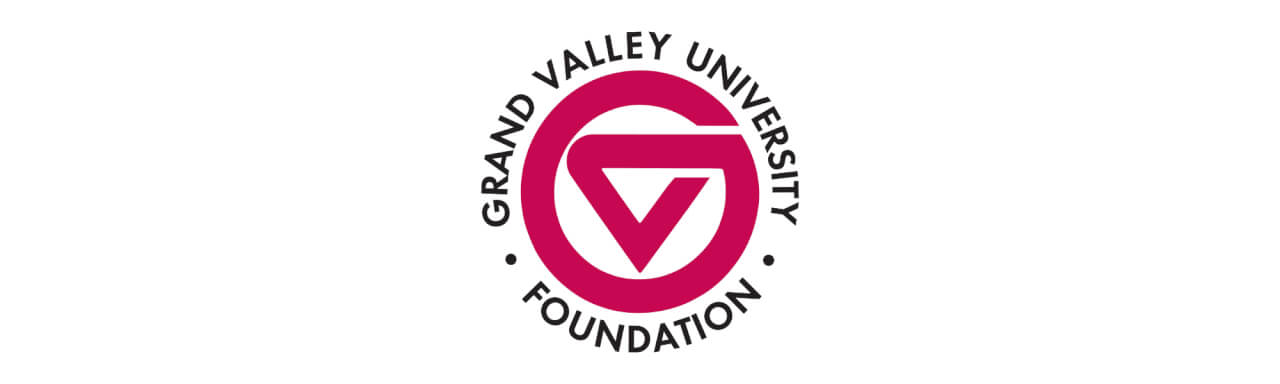 Grand Valley University Foundation logo.