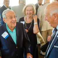 Raleigh J. Finkelstein Hall dedication