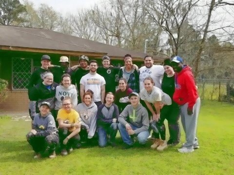 Spring Break 2018; Students in SLAM assisted with relief efforts