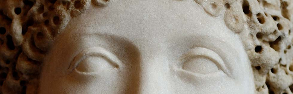 Portrait of an unknown woman (detail).
