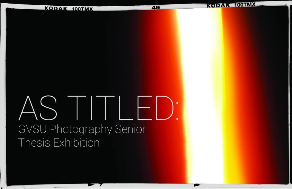 senior thesis photography