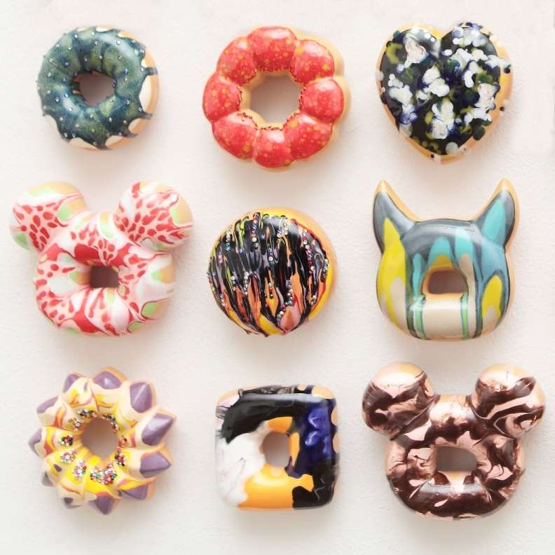 Fall Arts Celebration art 'Donuts Crave'