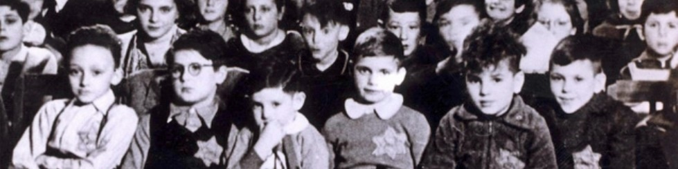 Jewish children in a Netherlands day school during the Nazi occupation