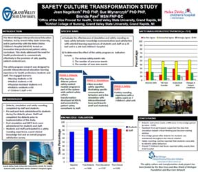 Safety Culture Transformation Study