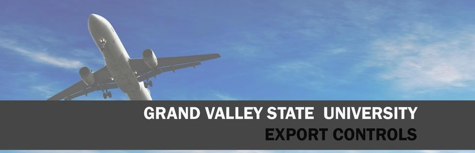 Grand Valley State University Export Controls