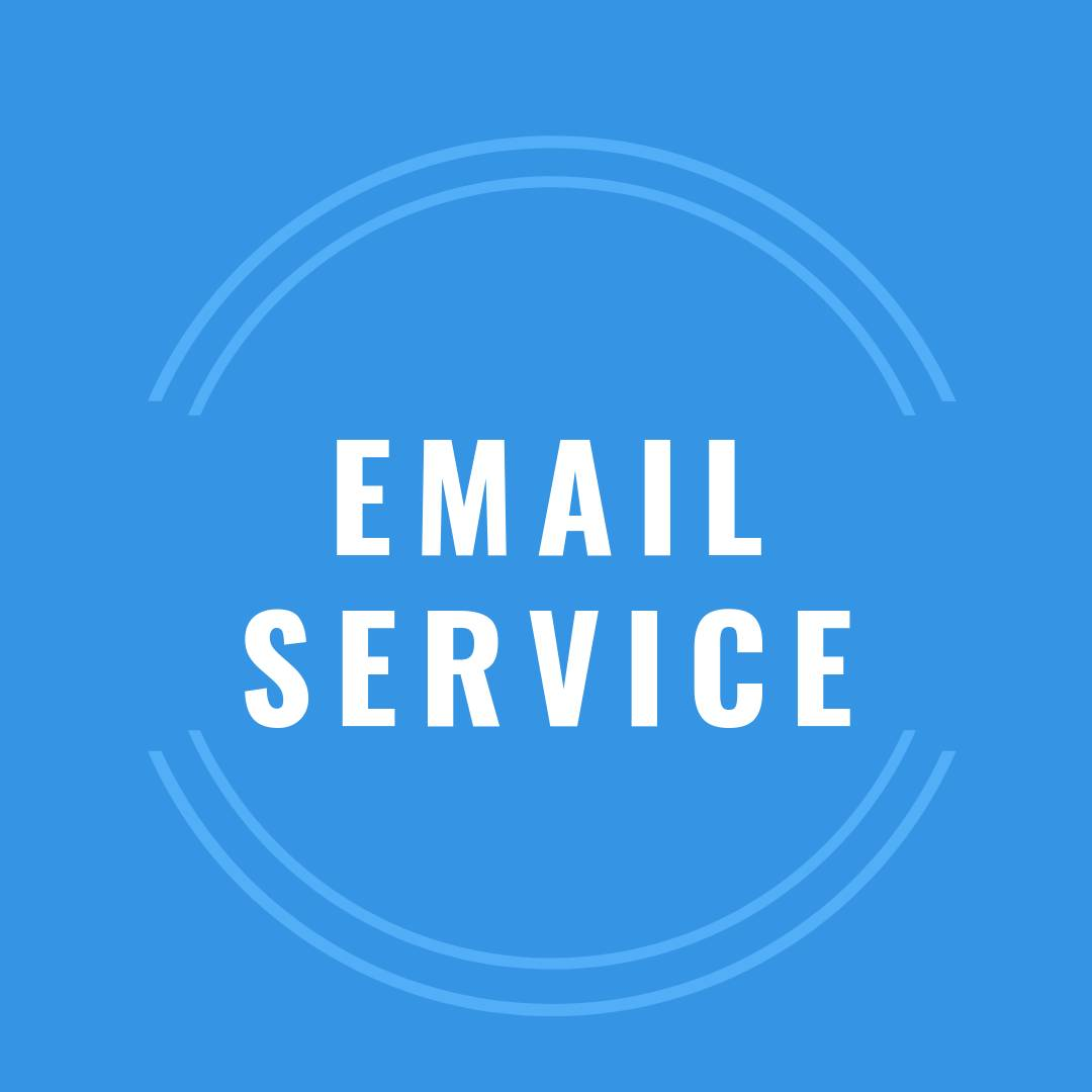 Click the pic to learn about our email service for qualified users