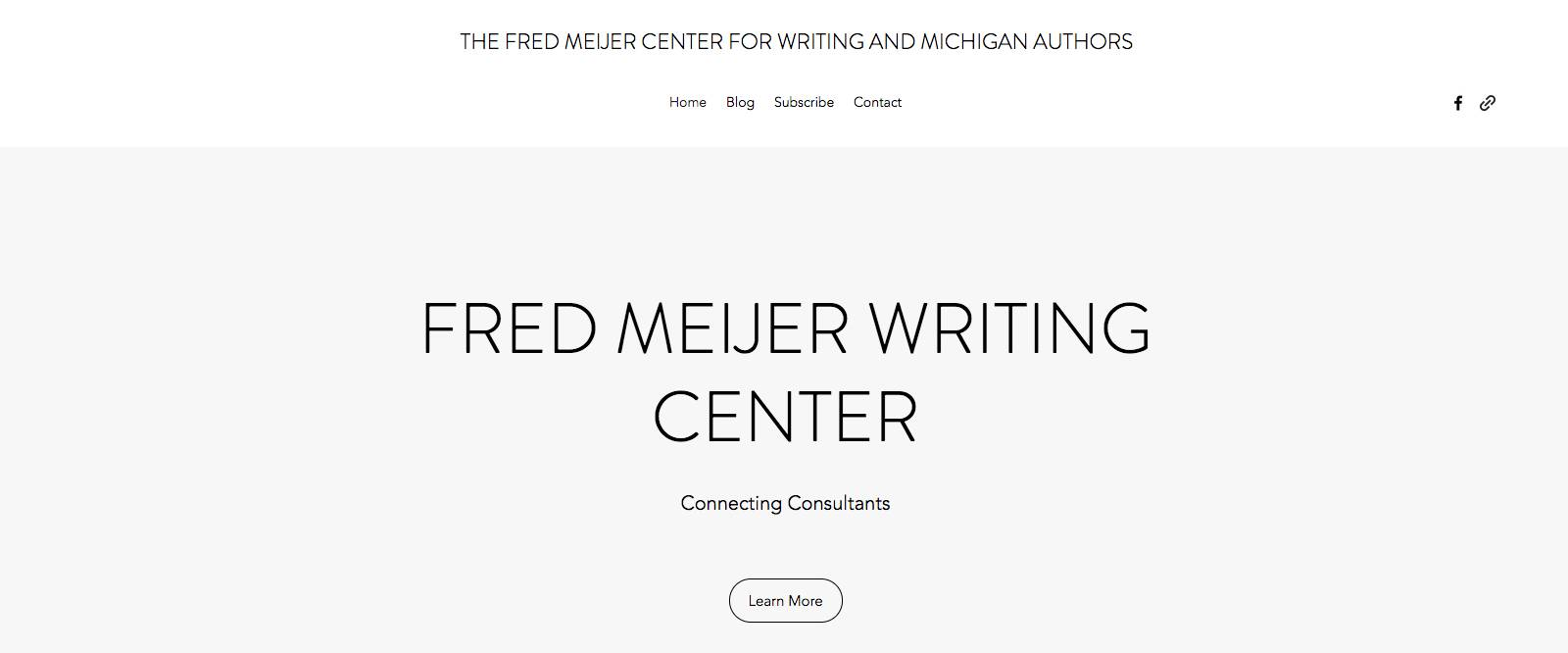 Consulting Support - Fred Meijer Center for Writing & Michigan ...