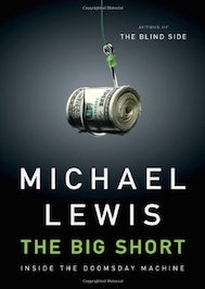 The big short by Michael Lewis book cover