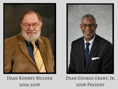 Deans Rodney Mulder and George Grant, Jr.
