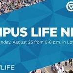 Campus Life Night on August 25, 2019