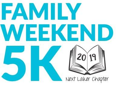 GVSU Family Weekend 5K 2019 Logo