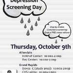 National Depression Screening Day Pew Campus