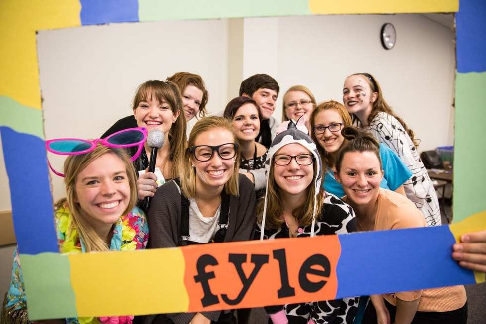Photo of Students at the First Year Leadership Experience