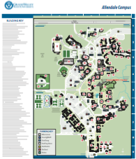 Gvsu Campus Map 2016.Grand Valley State University Map Allendale Campus Map 2018
