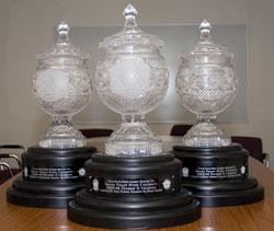 Director's Cup trophies