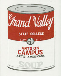 Arts on Campus flyer