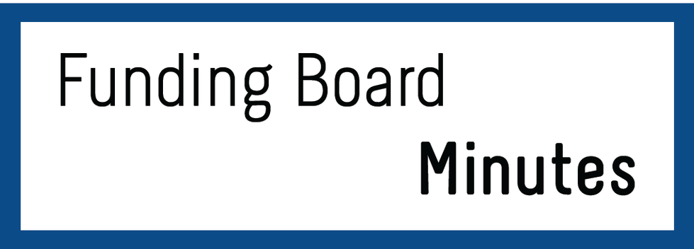 Funding Board Minutes