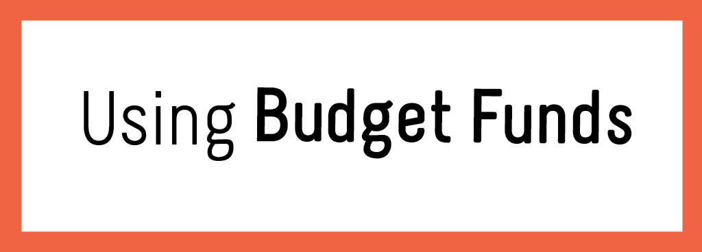 Using Budget Funds