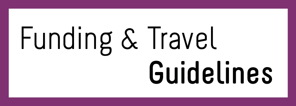 Funding & Travel Guidelines