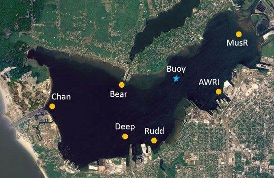 Muskegon Lake Water Quality Dashboard Robert B Annis
