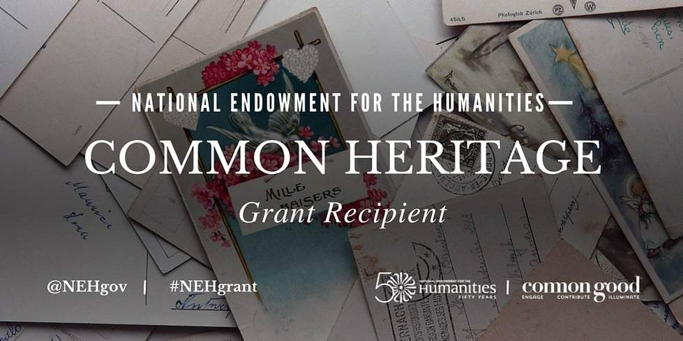 NEH Common Heritage Grant Recipient