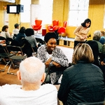 Community Conversation at LINC UP