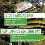 Pew Campus Study Abroad Advising Day