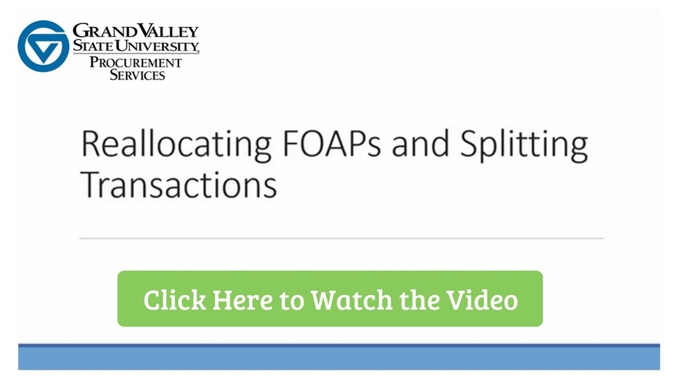 Reallocating FOAPs