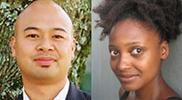 Oliver de la Paz and Tracy K. Smith profile photos