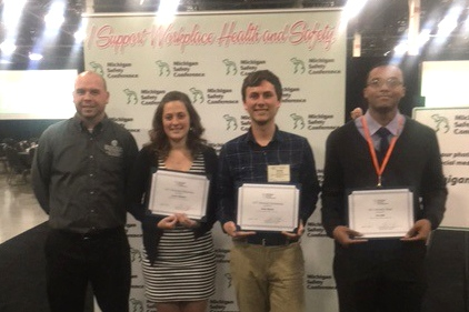 OSH Students Win Three of Five Scholarships At Michigan Safety Conference